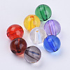 Transparent Acrylic BeadsTACR-Q255-26mm-V-1