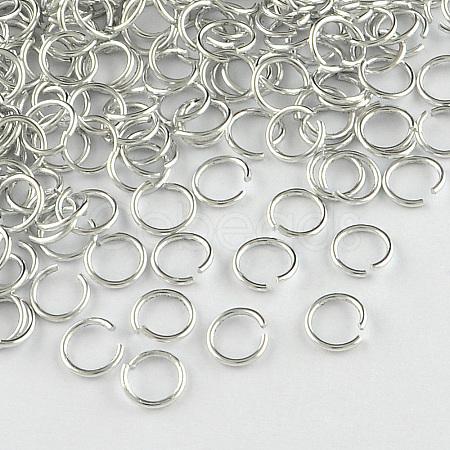 Aluminum Wire Open Jump RingsX-ALUM-R005-1.0x8-01-1
