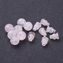 Buddha Style Rose Quartz Beads Sets X-G-D382-10mm-09
