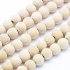 Natural Thuja Sutchuenensis Wood Beads StrandsX-WOOD-P011-07-6mm-1