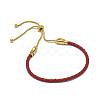 Adjustable Leather Cord BraceletsX-BJEW-I242-04-1