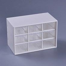Plastic Cosmetic Storage Display Box X-AJEW-WH0096-62