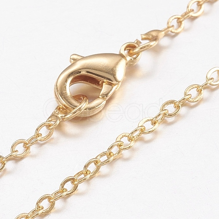 Brass Chain Necklaces MakingMAK-L009-04G-1