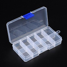 Plastic Clear Beads Display Storage Case Box X-C006Y