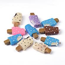 Food Resin Ice Cream Sticks Pendants X-RESI-Q046-M