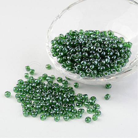Round Glass Seed BeadsX-SEED-A006-4mm-107-1