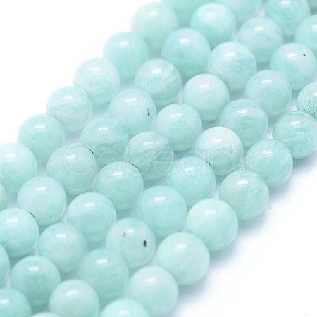 Natural Amazonite Beads StrandsX-G-F555-15-5mm-1
