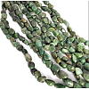 Natural South African Jade Bead StrandsG-P070-07-1