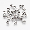 304 Stainless Steel Crimp Beads CoversX-STAS-L215-10P-1