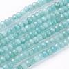 1Strand Natural Jade Beads StrandsX-G-R171-2x4mm-08-1