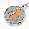 Iron Diffuser Locket KeychainKEYC-Q082-01-3